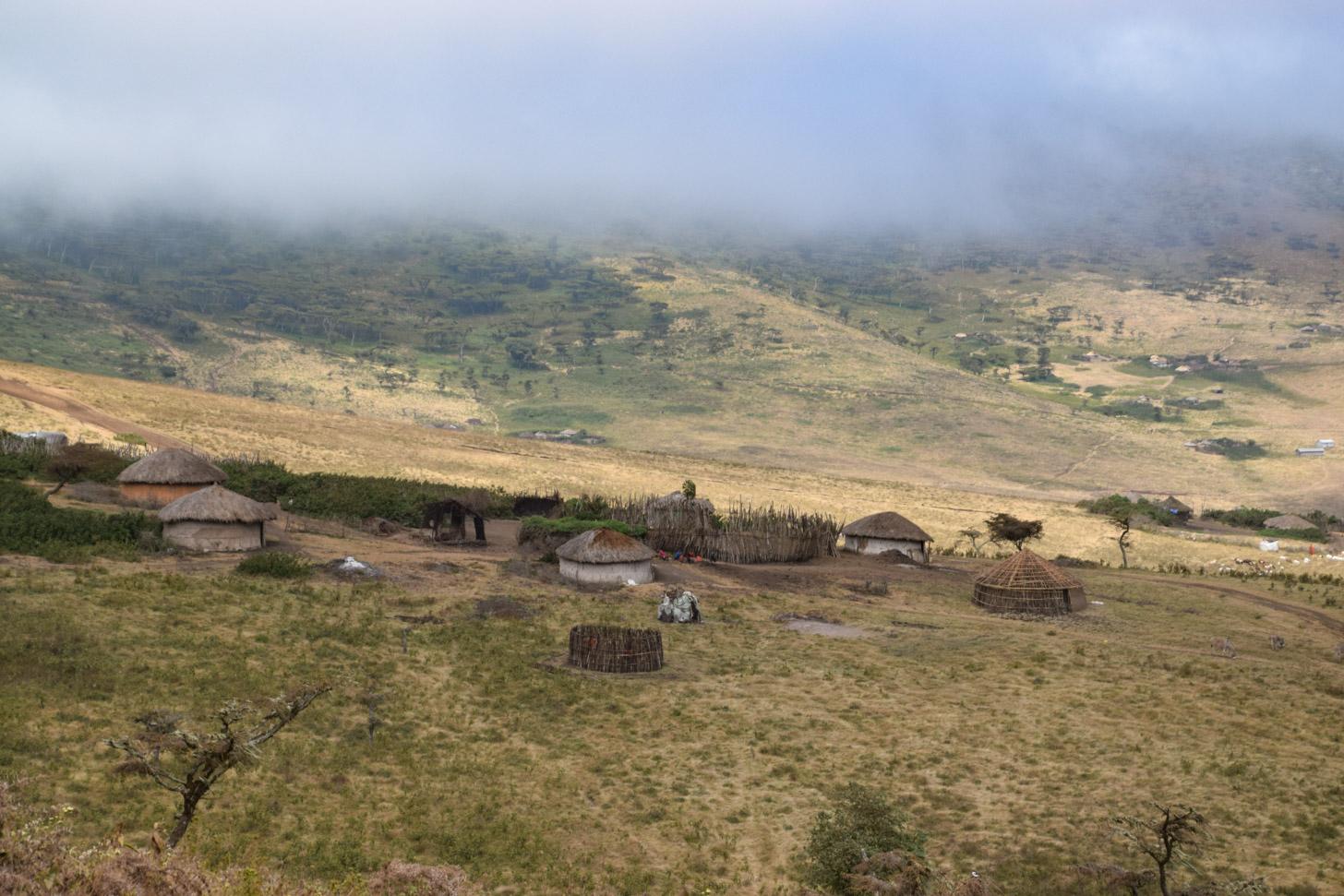 Een Masai dorp in Tanzania