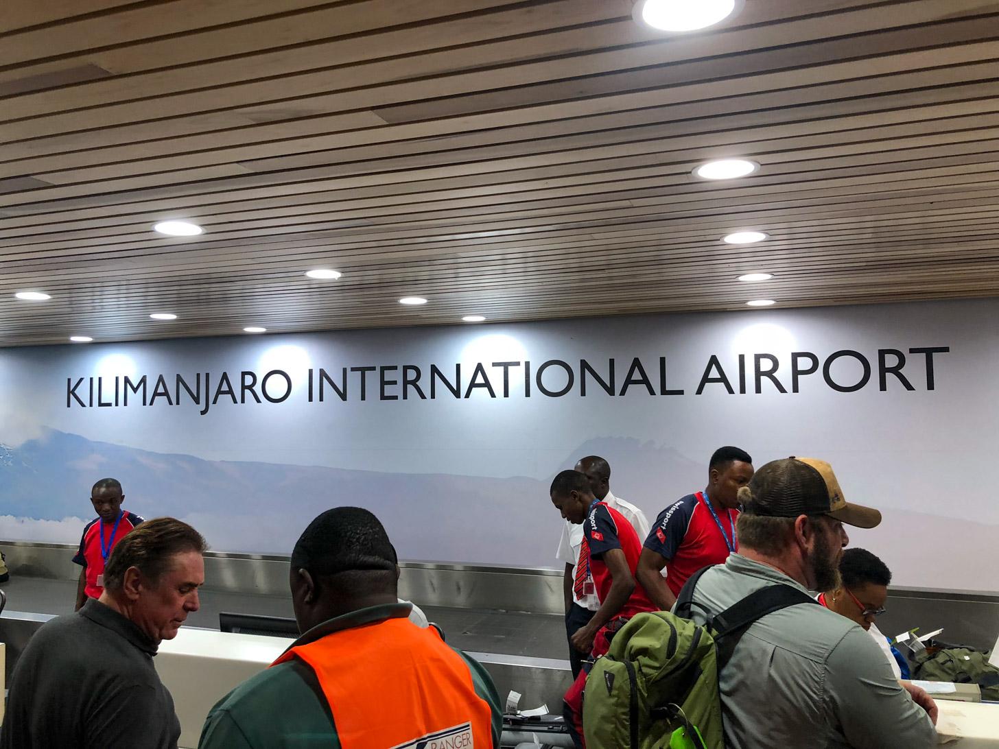 Vliegen naar Tanzania